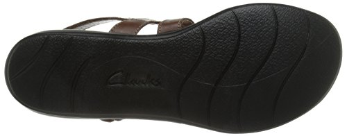 Clarks Leisa Marrone Annuale Sandale