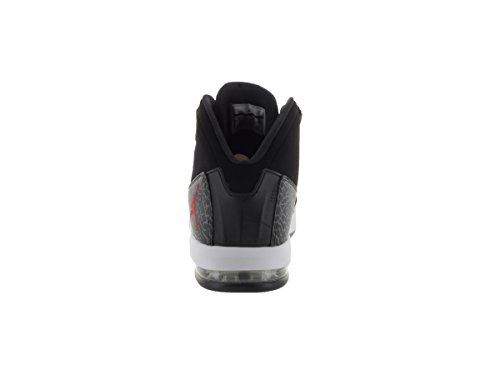 Nike Jordan Air Deluxe, Scarpe da Fitness Uomo Multicolore (Negro / Rojo / Gris / Blanco (Black / Gym Red-dark Grey-white))