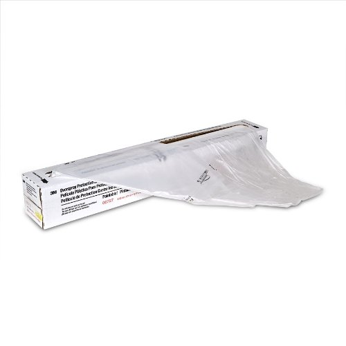 3M 06727 12' x 400' Overspray Protective Sheeting by 3M