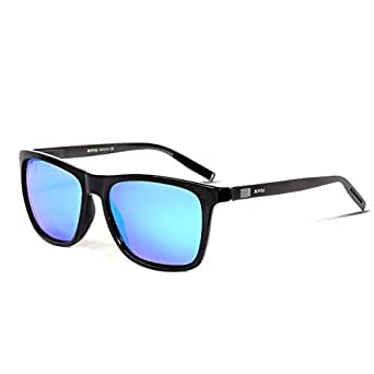 Amazon.com: BOYOU Polarized Sunglasses For Men Retro ...
