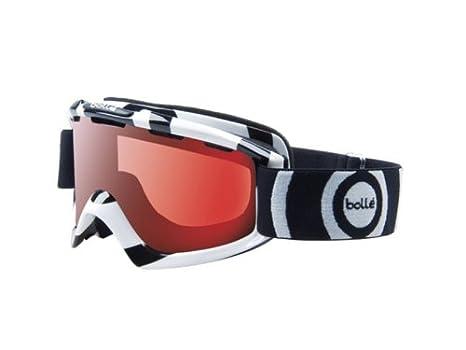 afff7e637d8 Amazon.com   Bolle Nova Goggle (Black White Vermillon Gun