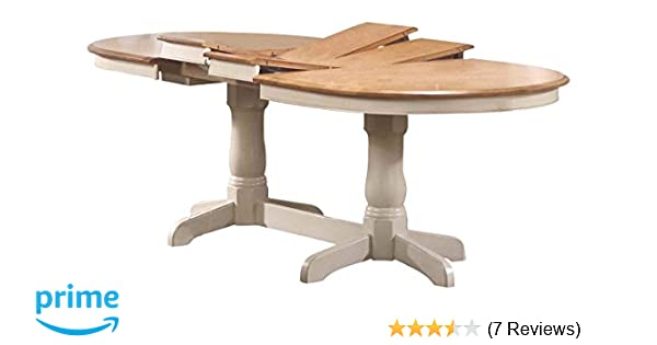 Amazon.com - Iconic Furniture Oval Dining Table 42\  x 90\  Caramel Biscotti Finish - Tables  sc 1 st  Amazon.com & Amazon.com - Iconic Furniture Oval Dining Table 42\