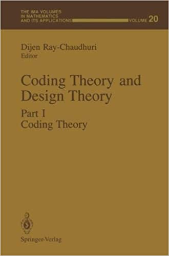 Coding Theory and Design Theory. Coding Theory