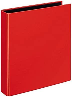 Velocolor 1153.300 - Archivador (tamaño A5, 4 anillas, 44mm), color rojo