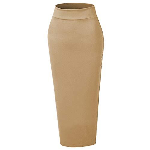 (Muslim Fashion Sanding Thickening Paragraph Wild one-Step Skirt Muslim Bag Hip)