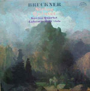 Bruckner: String Quintet - Kocian Quartet ~ Lubomir Malý