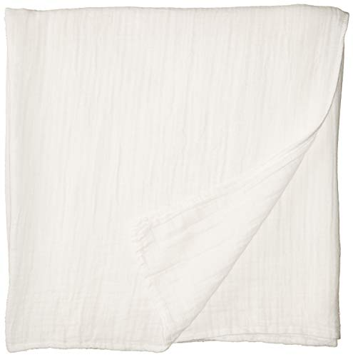 Cotton Organics Muslin Swaddle Blankets - Extra Soft and Hypoallergenic Organic Cotton - Pack of 1 ()