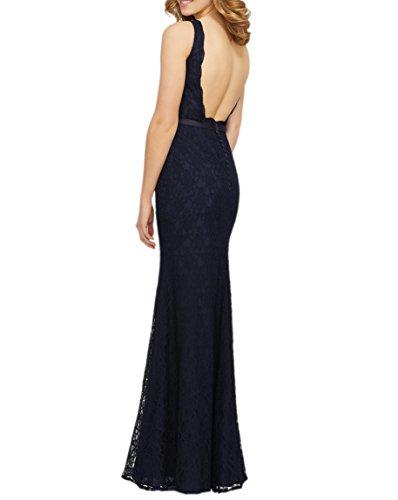 V Abendkleider Etuikleider La Blau Partykleider Spitze Ausschnitt Navy Braut Marie Gruen Lang Brautjungfernkleider Jaeger HRR8PqA6W