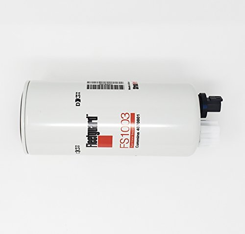 Fleetguard Fuel/Water Sep Spin-On FS1003 (Pack of ()