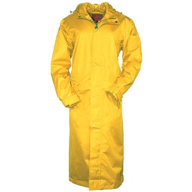 Outback Trading Co Men's Pak-A-Roo Waterproof DusterImages 301/341 Sent 1/2/18 Gold X-Small