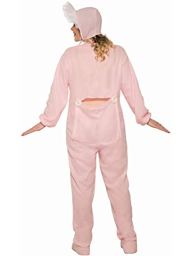 Women's Pink Jammies Costume, Pink, One Size -