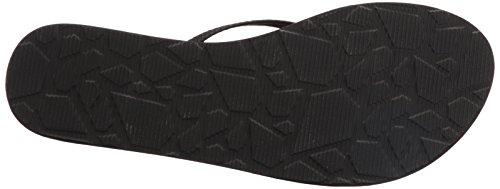 Volcom Women's Lookout SNDL Zehentrenner Dress Sandal, Parent Black Combo