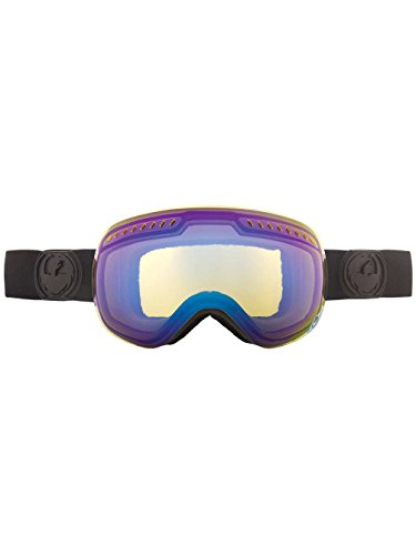 Dragon Alliance APXs Snow Goggles, Knightrider, Yellow Blue - Dragon Apx