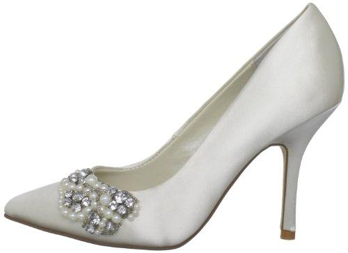 Satén Menbur Zapatos Clásicos Wedding Marfil Para 5125 Pattye De Mujer xw1PfwqBY