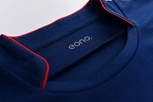 Eono Essentials Maillot de football pour homme anti-accumulation de transpiration