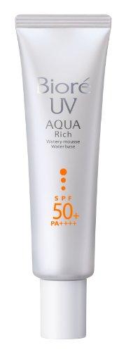 Biore Sarasara Uv Aqua Rich Waterly mousse SPF50+ PA++++ Pore Covering