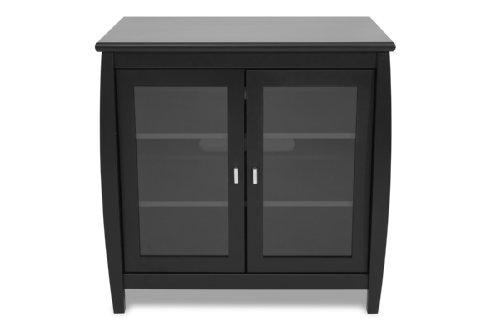 techcraft swd30b 30 inch wide flat panel tv hi boy black 11street malaysia media. Black Bedroom Furniture Sets. Home Design Ideas