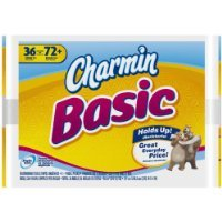Amazon.com: Charmin Basic Toilet Paper Double Roll, 36 Count: Baby