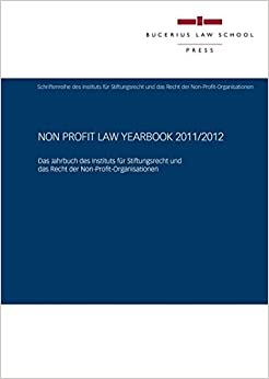 Non Profit Law Yearbook 2011/2012 (German Edition)