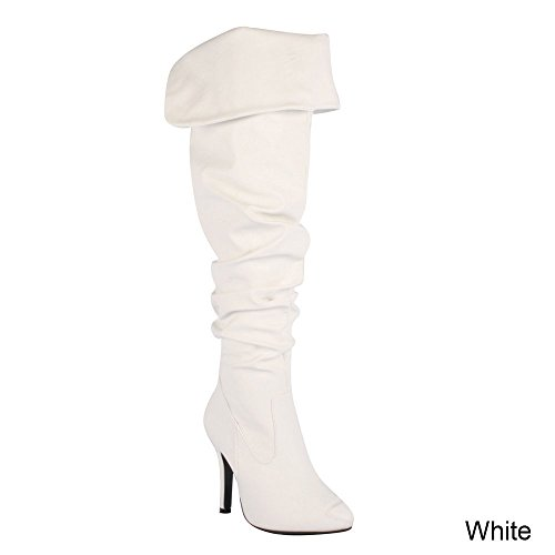 Forev (White Sexy Boots)