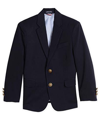 Classic Boys Blazer - Tommy Hilfiger Boys' Little Classic Blazer Jacket, Masters Navy, 4