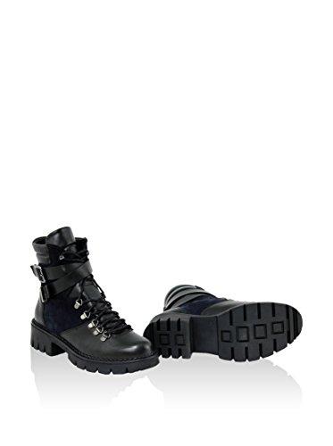 Gusto - 1315_NEPAL_CROSTA_TANTRA_BLUE_NERO - Schuhe Stiefel Schwarz