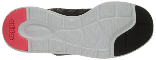 adidas Neo Frauen Cloudfoam Xpression Casual Sneaker Schwarz / Weiß / Rot