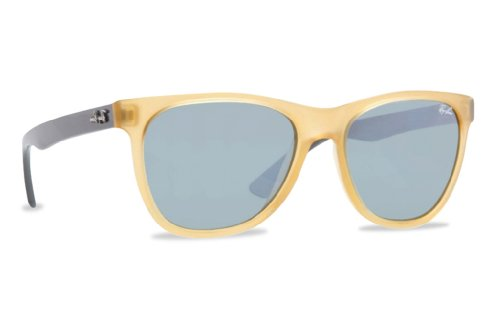 Ray-Ban Women's Highstreet Two Tone Sunglasses, Opal Yellow/Green Mirror, One - Ray Ban Yellow