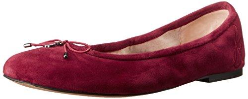 Sam Edelman Women's Felicia Ballet Flat, Tango Red, 10 M US