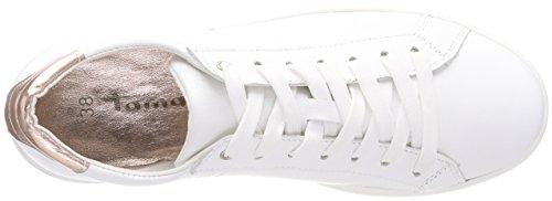 Tamaris Sneakers rose white Basses Femme Blanc 23631 Met a45xaqr1w