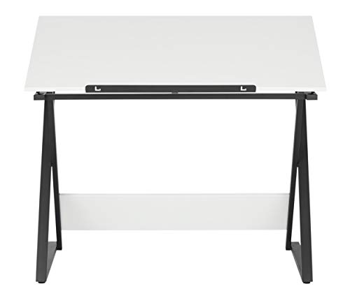 SD Studio Designs Studio Designs 13353 Axiom Modern Art, Drawing, Crafting, Drafting, 42-Inch Wide MDF Adjustable Angle Top Table in Charcoal/White, W x 24'' D x 30'' H by SD STUDIO DESIGNS (Image #5)
