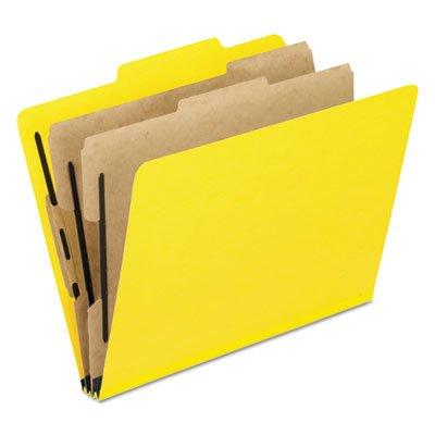 Pendaflex Six-Section PressGuard Colored Classification Folders