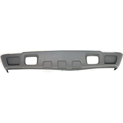 Front Bumper Valance compatible with 03-06 Chevy Silverado w/Tow Hook Hole