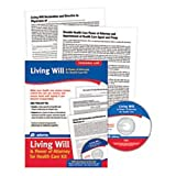 Adams Living Will and Power of Attorney for Healthcare Kit, Forms and Instructions, Includes CD (K306)