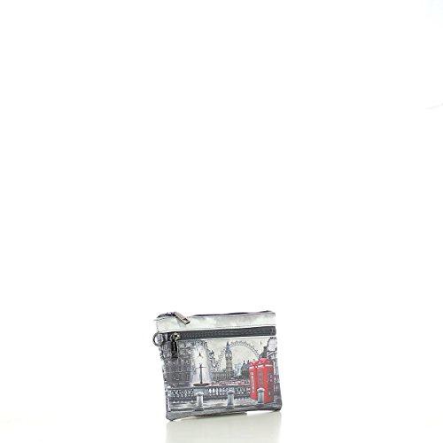 Y NOT? donna pochette con polsino I-342 RBX Grigio