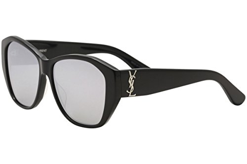 Yves Saint Laurent SL M8 002 56mm Black / Silver - Sun Ysl Glasses