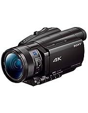 Sony FDR-AX700 4K HDR Camcorder, BIONZ X, 14.2 MP, 12x Optical Zoom, Black