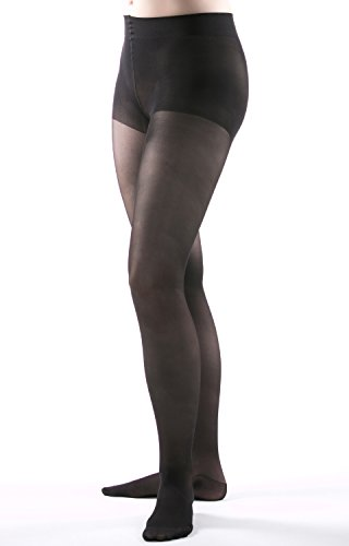 Allegro 15-20 mmHg Premium Italian Sheer Compression Pantyhose