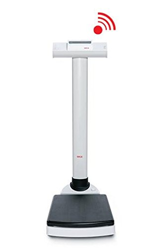 Seca 703 Electronic Column Scale with Height Rod and BMI Function (Pounds and Kilograms)