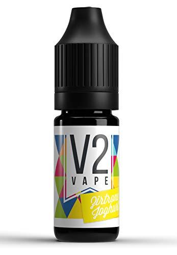 V2 Vape Zitrone-Joghurt AROMA / KONZENTRAT hochdosiertes Premium Lebensmittel-Aroma zum selber mischen von E-Liquid…