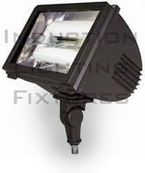 40w Mini Induction Adjustable Flood Light Round Back Fixture