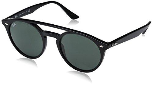Ray-Ban RB4279 Round Sunglasses, Black/Green, 51 mm (Ray Ban 3578)