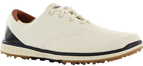 Skechers Performance Women's Go Golf Elite Canvas Golf Shoe,Natural/Navy,6.5 M US by Skechers