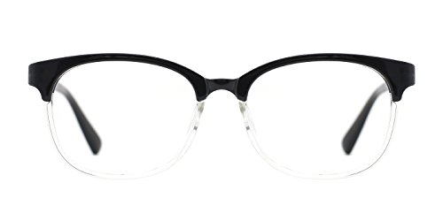 TIJN Mens Bookish Color Fade Clubmaster - Optical Clubmaster Eyeglasses