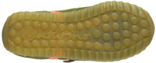 Naturino NATURINO ISAO. 0012008003039121 - Zapatillas de cuero para unisex-niño, color beige, talla 25 Beige (Beige (kaki 9121))
