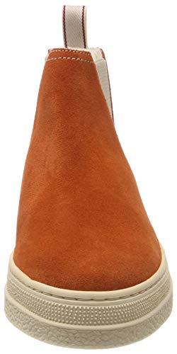 Gant Naranja Mujer burnt G430 Orange Plisadas Botas Para Maria rAxwn4qrCf