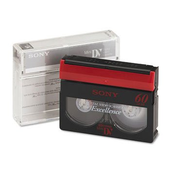 Sony® DVC Camcorder Video Tape TAPE,VIDEO,60 MIN DVC 1143551 (Pack of20) by SONYMP