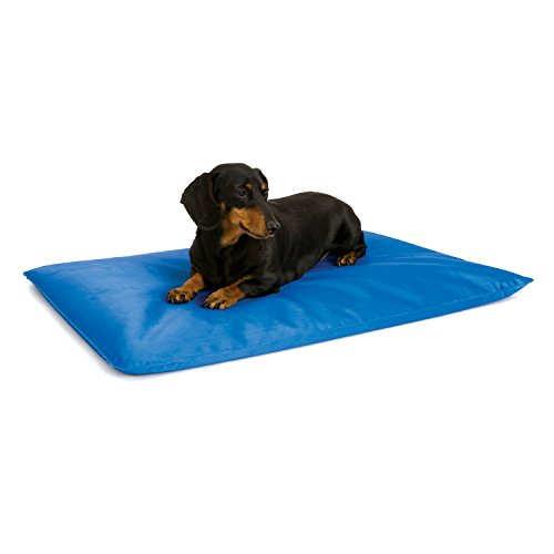 K&H Pet Products Cool Bed III Cooling Dog Bed Small Blue 17