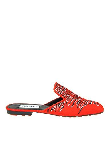 Rojo Sandalias Gamuza Kenzo F852MU126L7521 Mujer Eq4x8B