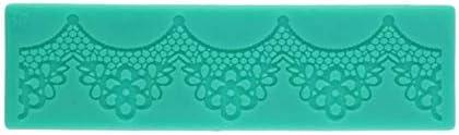 Molde de silicona de encaje Liobaba herramientas universales de decoración de pasteles molde en relieve artesanal de azúcar herramienta de cocina portátil para hornear